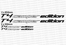 VW T4 T5 T6 camper edition decal sticker graphic available in choice of colours