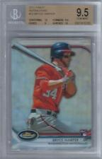 2012 Bryce Harper Topps Finest Refractors RC... BGS 9.5 Gem Mint w/two 10 subs