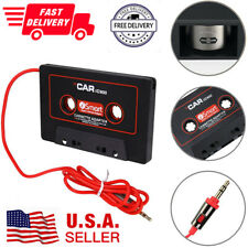 Car Cassette Tape Adapter Converter Audio Aux 3.5Mm For iPhone iPod Mp3 Android