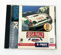 Sega Rally Championship (PC, 1999) Expert Software Sega PC Collection jewel case