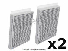 BMW F10 Activated Charcoal Cabin Air Filter Set Set of 2 AIRMATIC +WARRANTY