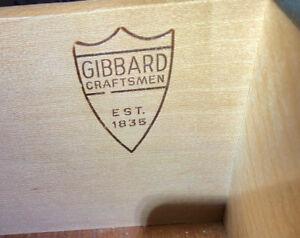 Gibbard Mahogany Dining Set