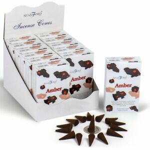 QUALITY Stamford Incense Cones Authentic Scents Dhoop Cones 15x Box Hand Rolled