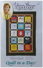 Eleanor Burns - T-Shirt Quilts - Quilt Pattern Book - Fall Wall Hanging Patterns