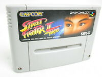 STREET FIGHTER II 2 TURBO Super Famicom Nintendo Free Shipping Hit-Japan sfc
