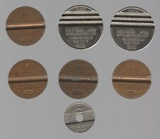 More details for mix of gettone telephone/machine tokens   pennies2pounds