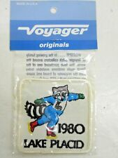 "1980 LAKE PLACID WINTER OLYMPICS PATCH FIGURE SKATING ""MIRACLE ON ICE"" NOS"