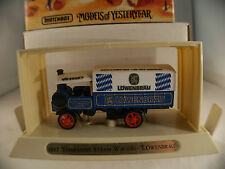 Matchbox YGB12 1917 Yorkshire steam Wagon Löwenbräu en boite MIB