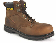 Leather Lace-ups CAT Boots for Men