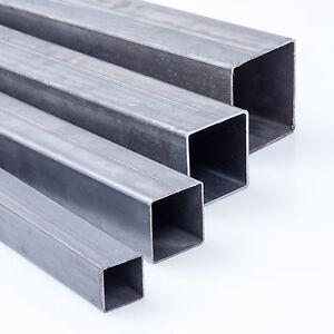 Quadratrohr Stahlrohr Hohlprofil Stahl Vierkantrohr Rohr Eisen Stahl Metall