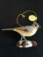 Danbury Mint, Songbird Christmas Ornament, Purple Finch