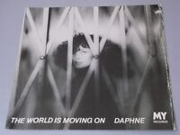 """Daphne:  The World Is Moving On 1979  EX  7"""""""