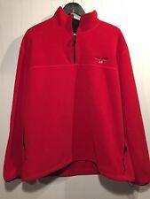 Men's RALPH LAUREN POLO SPORT Pullover Coat/Jacket in Red, Size XXL, SKU7R