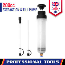 New Waste Oil Fluid Extractor Pump Manual Suction Vacuum Fuel Car Transfer 200CC