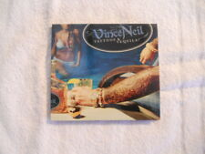 """Vince Neil """"Tattoos & Tequila"""" 2010 cd Frontiers Rec. Digipack New  Motley Crue"""