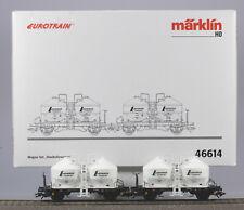 Märklin HO #46614 Lafarge Zement Silo Two Car Set, N/BX, 2002 only