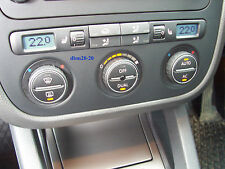 VW GOLF MK5 GTI R32 HEATER A/C CLIMATE CONTROL PANEL SWITCH HEATED SEATS