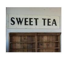 Embossed Metal Sweet Tea Sign~Vintage Style~Southern Charm