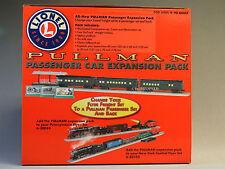 LIONEL PULLMAN PASSENGER CAR EXPANSION SET O GAUGE track plus kit 6-30111 NEW