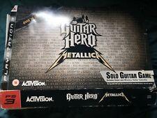 Guitar Hero PLAYSTATION 3 PS3 Metallica En Caja
