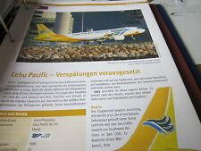 Airlines Archiv Philippinen Cebu Pacoific Verspätungen vorausgesetzt 4S