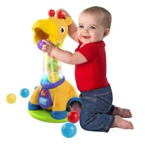 Bright Starts Spin and Giggle Giraffe - 12m+ Motor Skills Early Learning Fun