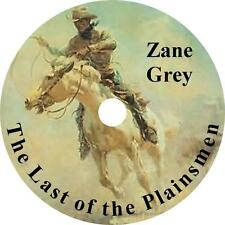 The Last of the Plainsmen, a Zane Grey Western Audiobook unabridged on 1 MP3 CD