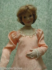 "Sandra Kuck's ""Expectant Moments"" porcelain/cloth doll ns-115"