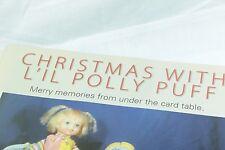 2 Page Article 1970 Remco L'il Polly Puff - Dec/Jan 2005 Doll Reader Magazine