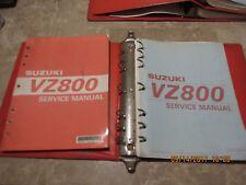 2 GENUINE SUZUKI VZ 800 SERVICE REPAIR MANUAL SHOP MANUAL VZ800