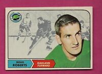 1968-68 OPC  # 88 GOLDEN SEALS DOUG ROBERTS GOOD CARD  (INV#5162)