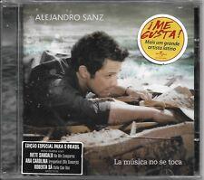 CD ALEJANDRO SANZ - LA MUSICA NO SE TOCA [BRAZILIAN SPECIAL EDITION +3 TRACKS]