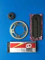 KIT TRASMISSIONE CATENA TRANSMISSION CHAIN HONDA CB 600 F HORNET NO ABS 07-13