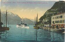 027 Riva del Garda - Lago di Garda - Porto e Strada del Ponale e Monte Baldo