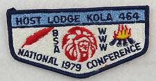 OA Lodge 464 Kola S11a Flap HOST NOAC79    [MS708]