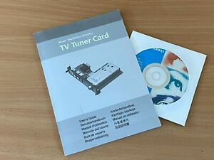 HYUNDAI TV TUNER CARD TN01(NTSC), TP01(PAL) MULTI LANGUAGE MANUAL & CD