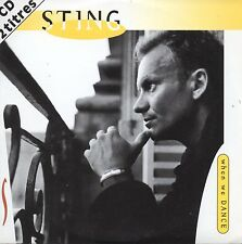 CD Single STING When we dance 2-track CARD SLEEVE + NEW SEALED