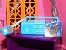 Barbie Blue Ipod Radio Boombox Lot fits Fisher Price loving family dollhouse
