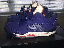 Air Jordan 5 low Knicks coloryway with Box barely worn condition 9/10