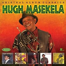 HUGH MASEKELA - ORIGINAL ALBUM CLASSICS  5 CD NEU