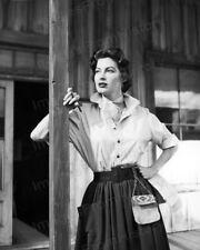 8x10 Print Ava Gardner Nice Fashions Movie ? #AGEC