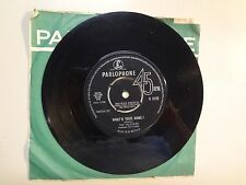 """VALKYRIES: What's Your Name?-Rip It Up-U.K. 7"""" 4-1964 Parlophone Co. ltd. R 5123"""