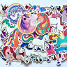 50 Sexy Einhorn Unicorn Stickerbomb Retrostickern Aufkleber Sticker Mix Decals