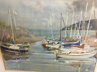 "ORIGINAL MARINE PAINTING ""PORLOCK"" BY Margret Stella Murray Whatley"