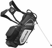 TaylorMade Stand 8.0 Golf Carry Bag 2020 - Black/White/Charcoal