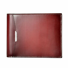 Salvatore Ferragamo Men's Burgundy 100% Leather Bifold Wallet