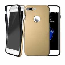 Handy hülle 360° Full Cover für iPhone Samsung Case Schutz Tasche Displayschutz Samsung Samsung Galaxy A5 2017 A520 Gold