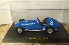 "DIE CAST "" FERRARI 375 F1 - 1952 LOUIS ROSIER "" SCALA 1/43  FERRARI F1"