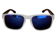 Gafas de sol de mujer de espejo de plástico de protección 100% UVA & UVB