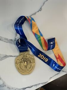 2019 New York City NYC Marathon Official Finisher Medal